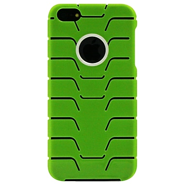 Exian iPhone SE/5/5s Case, Fishbone Pattern Green