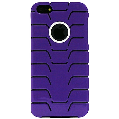 Exian iPhone SE/5/5s Case, Fishbone Pattern Purple