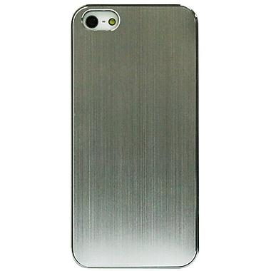 Exian iPhone SE/5/5s Case, Brush Metal Silver