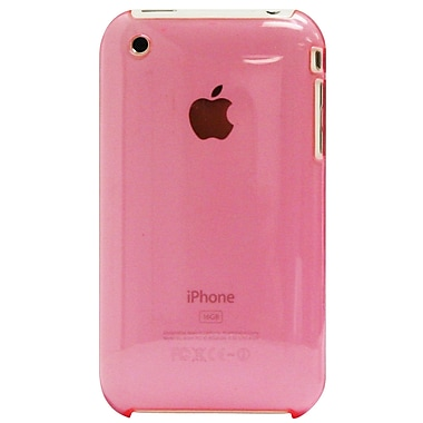 Exian iPhone 3G 3Gs Case, Pink Transparent
