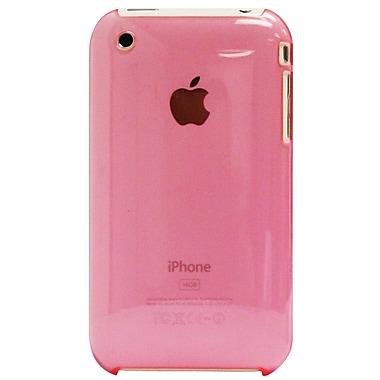 Exian – Étui pour iPhone 3G 3Gs, rose transparent
