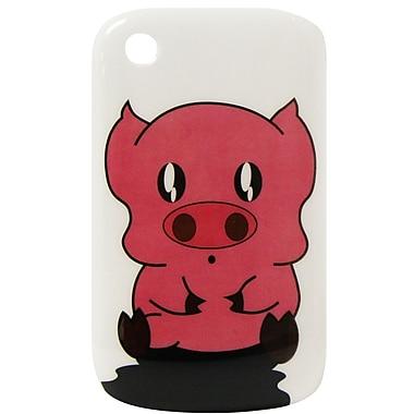 Exian Case for Blackberry Curve 8520, Cartoon Pig