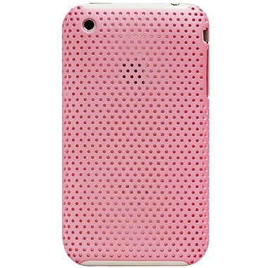 Exian – Étui pour iPhone 3G/3Gs, filet rose