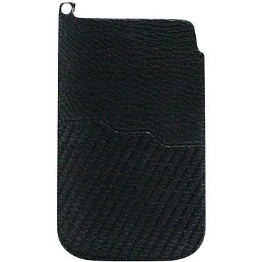 Exian Universal Pouch, Diagonal Stripes Black