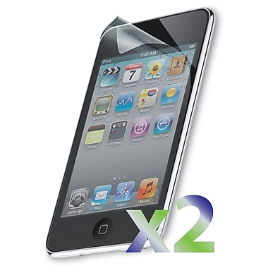 Exian iPod Touch 4 Screen Protector, 2 Piece, Clear