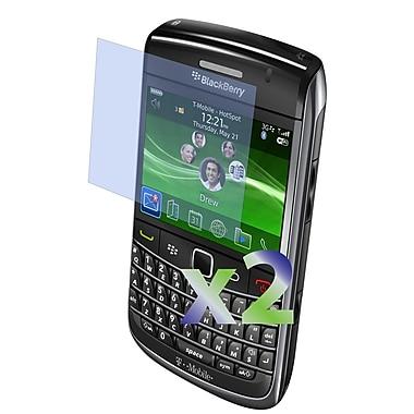 Exian – 2 protecteurs d'écran transparents pour BlackBerry Bold 9700