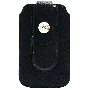Exian P007 Universal Pouch, Black with Magnetic Fastener