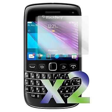 Exian Blackberry Bold 9790 Screen Protector, 2 Pieces, Clear