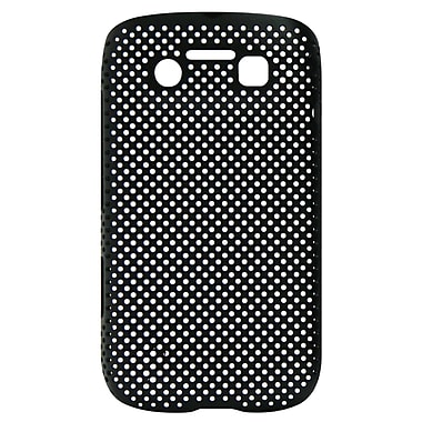 Exian Case for Blackberry Bold 9790, Net Black