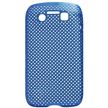 Exian Case for Blackberry Bold 9790, Net Blue