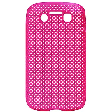 Exian Case for Blackberry Bold 9790, Net Pink