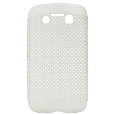 Exian Case for Blackberry Bold 9790, Net White