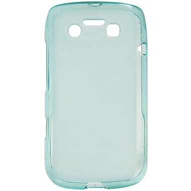 Exian Case for Blackberry Bold 9790, Transparent Blue