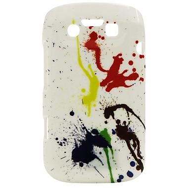 Exian – Étui avec éclaboussures de peinture pour BlackBerry Bold 9790