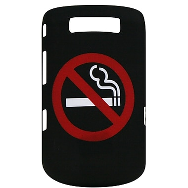 Exian BlackBerry Torch 9800/9810 Case, No Smoking Black