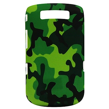 Exian BlackBerry Torch 9800/9810 Case, Army Camo Green