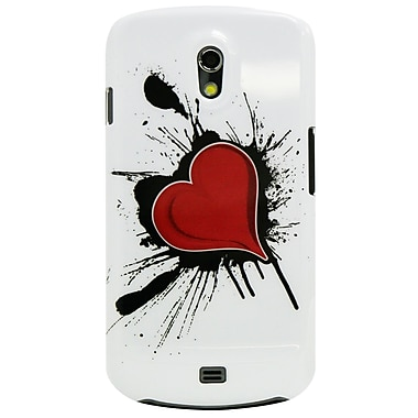 Exian – Étui à motif de cœur sur tache d'encre pour Galaxy Nexus