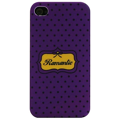 Exian Case for iPhone 4, Romantic Purple