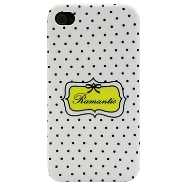 Exian Case for iPhone 4, Romantic White