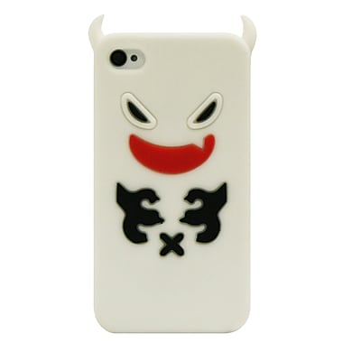Exian Case for iPhone 4, Ghost White