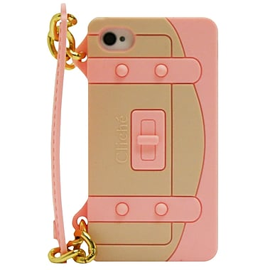 Exian iPhone 4/4s Case, Handbag Pink