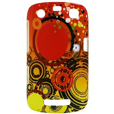 Exian Case for Blackberry Curve 9360, Orange Circles