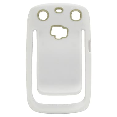 Exian Case for Blackberry Curve 9360 with Belt Clip, White