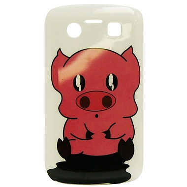 Exian Case for Blackberry Bold 9700, Cartoon Pig