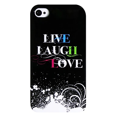 Exian iPhone 4/4s Case, Live Laugh Love 2
