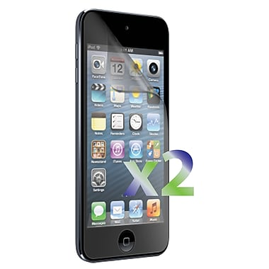 Exian iPod Touch 5 Screen Protector, Clear, 2 Piece