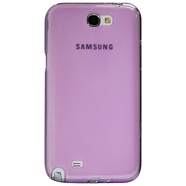 Exian Case for Galaxy Note 2, Transparent Purple