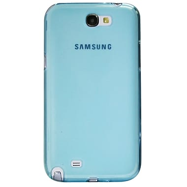 Exian Case for Galaxy Note 2, Transparent Blue