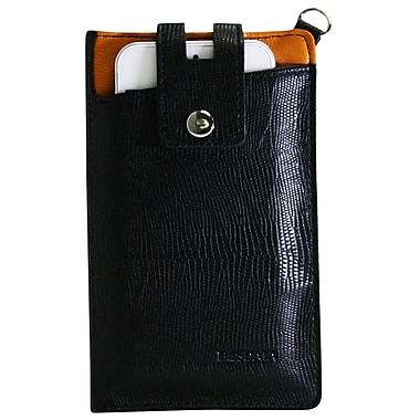 Exian Universal Pouch, Black with Card Slots