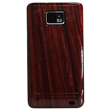 Exian Case for Galaxy S2, Wood Pattern