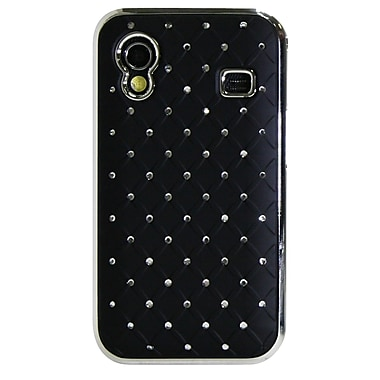 Exian Case for Galaxy Ace, Diamond Pattern with Crystals Black
