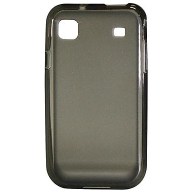 Exian – Étui en polyuréthane pour Galaxy S, gris transparent