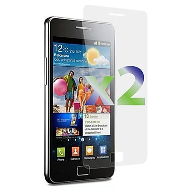 Exian Galaxy S2 Screen Protector, 2 Pieces, Clear