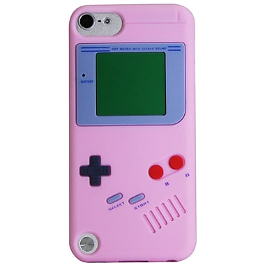 Exian iPod Touch 5 Case, Gameboy Shape Pink
