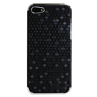 Exian – Étuis à motifs hexagonaux pour iPhone 5