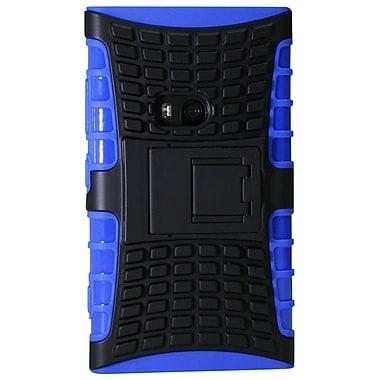 Exian – Étui protecteur pour Lumia 920, blindé avec support, bleu