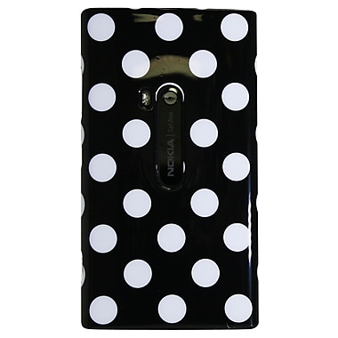 Exian Case for Lumia 920, Polka Dots Black