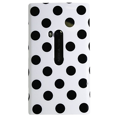 Exian Case for Lumia 920, Polka Dots White