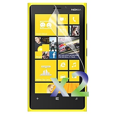 Exian Nokia Lumia 920 Screen Protector, 2 Pieces, Clear