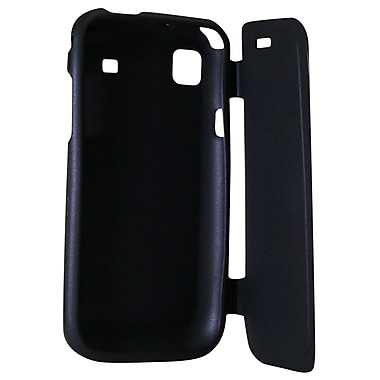 Exian Case for Galaxy S with Front Cover, Black