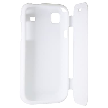 Exian Case for Galaxy S with Front Cover, White