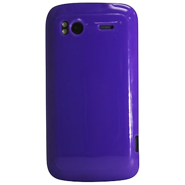 Exian Case for HTC Sensation, Plain Purple