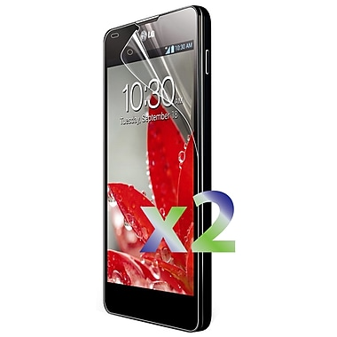 Exian LG Optimus G Screen Protector, 2 Pieces, Anti Glare