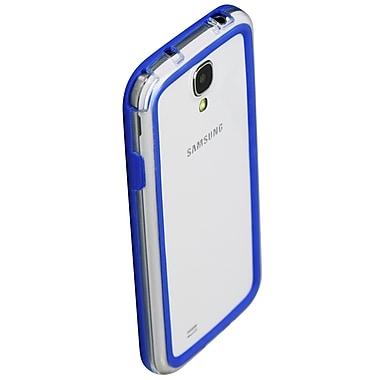 Exian – Étui pare-chocs pour Galaxy S4 Mini, bleu