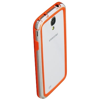 Exian Case for Galaxy S4, Bumper Orange