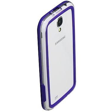 Exian – Étui pare-chocs pour Galaxy S4, violet